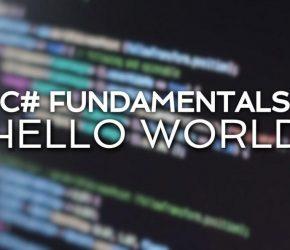Criando o primeiro app no Visual Studio – Hello World.