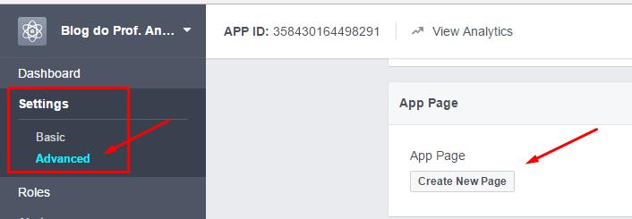 aplicativosfacebookadicionarpagina