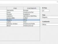 Trabalhando com JTable e Banco de Dados no Java