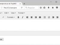 Como implementar o TinyMCE em seu formulário