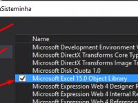 Gerar uma planilha do Excel com C#