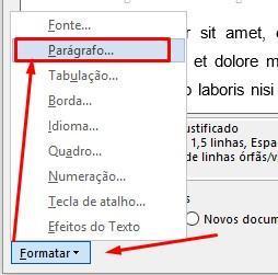 Formatação automática no Word (Estilos) |