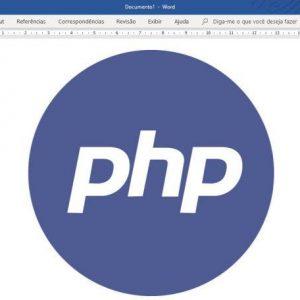 Como criar um arquivo do Word (.DOC) com PHP