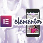Template gratuito para Elementor – Academia Modelo 01